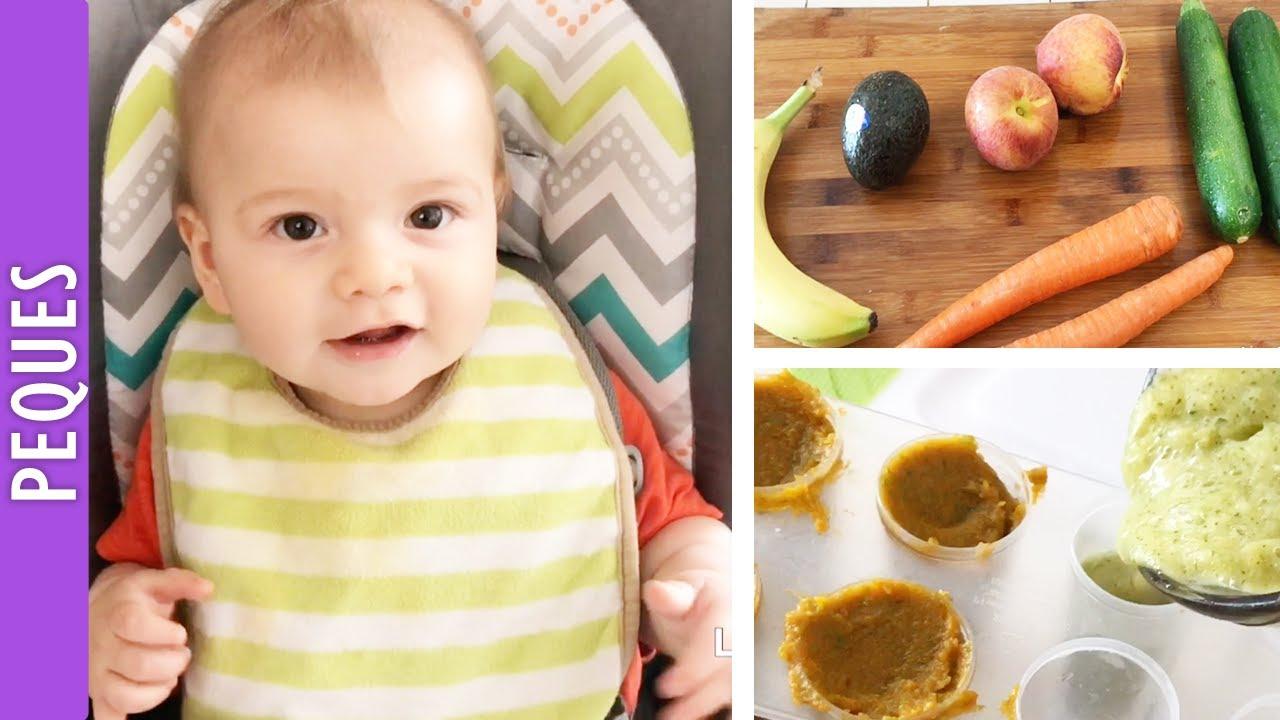 Comida para bebe papillas y comida en trocitos para mi bebe de 7 meses los290ss youtube - Alimentacion bebe 7 meses ...
