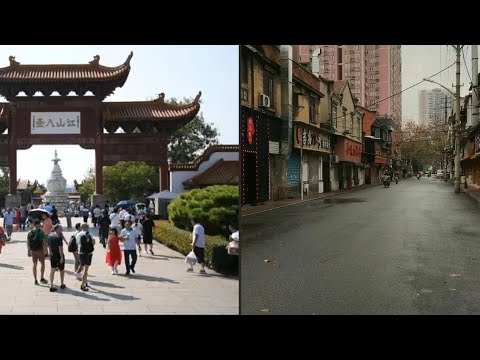 Wuhan, before and after the coronavirus | AFP