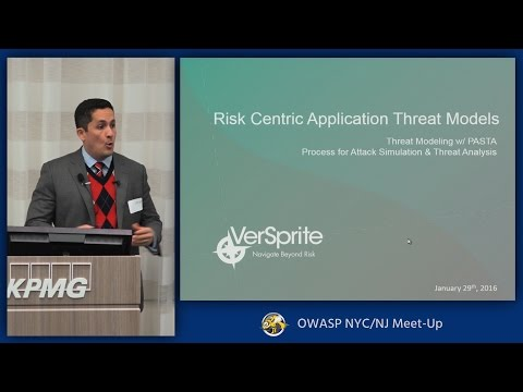 Process for Attack Simulation and Threat Analysis  (PASTA) Risk Centric Threat Models