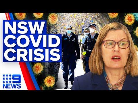 Police demanding changes to NSW lockdown laws   Coronavirus   9 News Australia