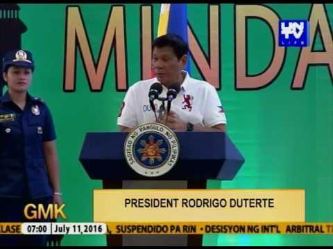 Pangulong Duterte, Planong bumiyahe sa Jolo, Sulu para sa Peace Process