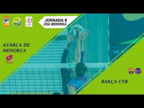 Liga Iberdrola 18/19 - Jornada-08 - Avarca De Menorca - Barça CVB