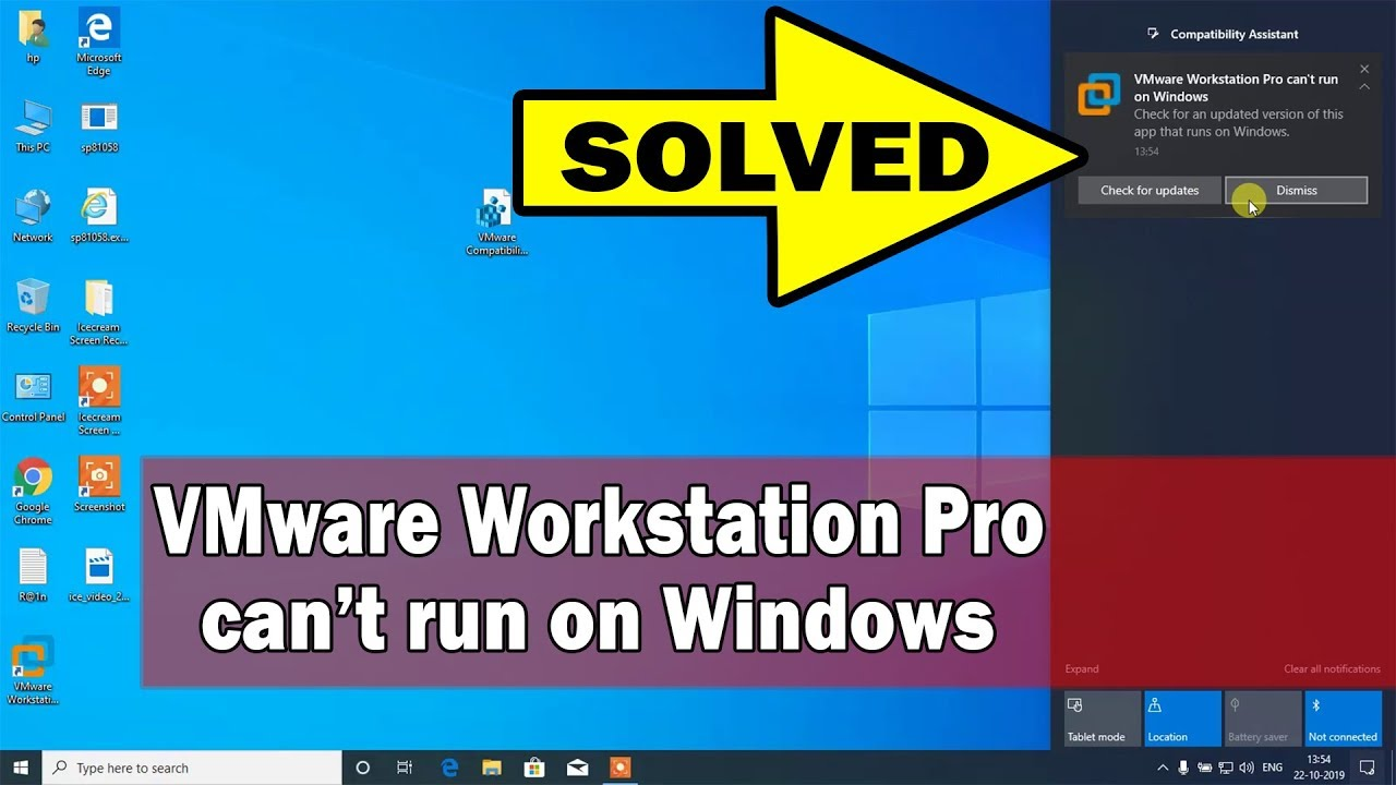 [SOLVED] VMware Workstation Pro can't run on Windows | VMware Workstation Pro not opening…