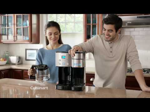 a09e5a5a2d9 Coffee Center™ 12 Cup Coffeemaker and Single Serve Brewer (SS-15) - YouTube