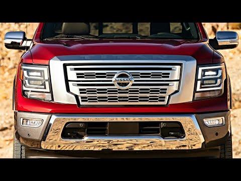 2020 Nissan TITAN – Nissan TITAN 2020, Luxury Pickup Truck