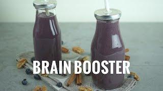 Brain Booster Smoothie | Kris Carr's #CrazySexyGreenDrinks Challenge