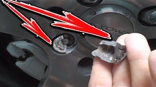 ТРЕШ! Не можем снять колесо на машине - режем болты/гайки 3 способами!