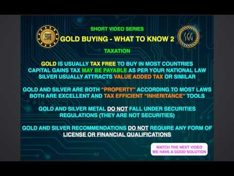 Buying Gold and Silver  what to be aware of.