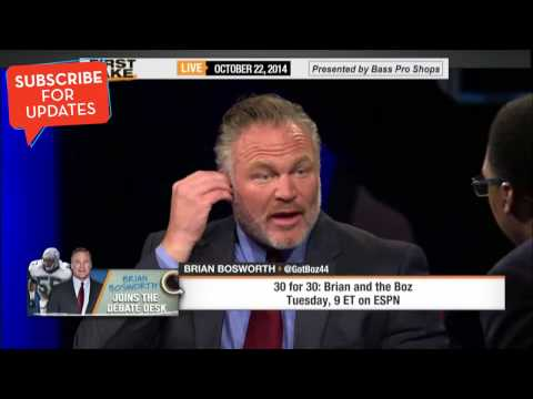 First Take - Brian Bosworth Talks 'Brian and the Boz'