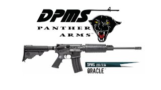 DPMS Panther Oracle Table Top Review: The Best Valued AR15 Ever (5.56x45 NATO Webcam Vid) | mpk1414
