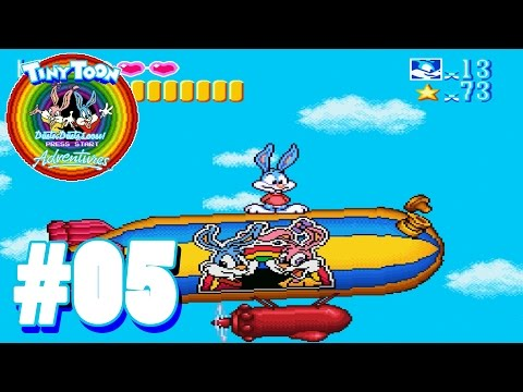 Über den Wolken - #05 - LP Tiny Toon Adventures: Buster Busts Loose [Deutsch]