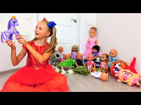 Compilation Of New Videos For Kids By Super Polina.
