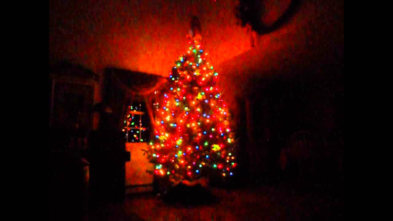 Projection Mapped Christmas Tree Youtube