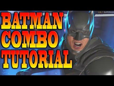 Injustice 2 BATMAN COMBOS! - BATMAN COMBO TUTORIAL