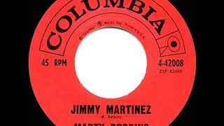 1961 HITS ARCHIVE: Jimmy Martinez - Marty Robbins YouTube Videos