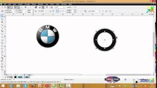Corel DRAW X6 Logo BMW