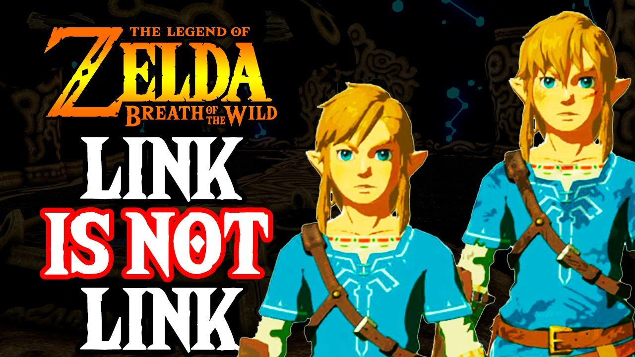 Link is Not Link in Breath of the Wild - Zelda Theory