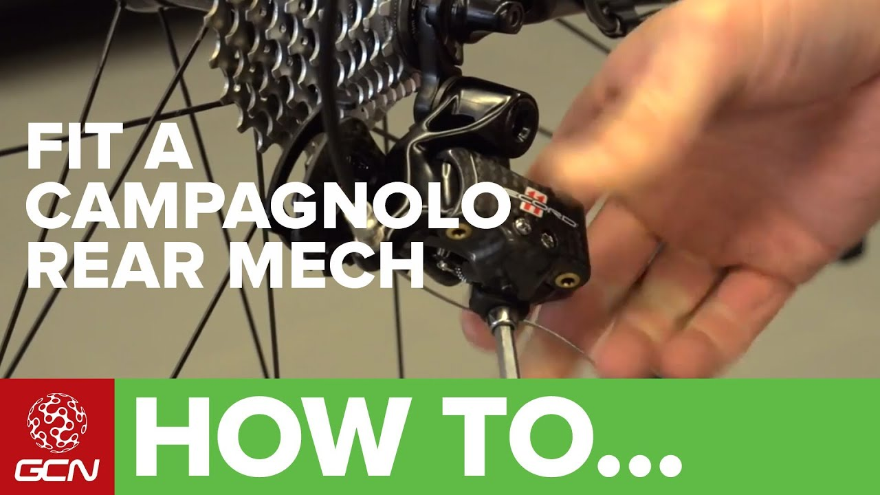 How To Install A Campagnolo Rear Derailleur Youtube