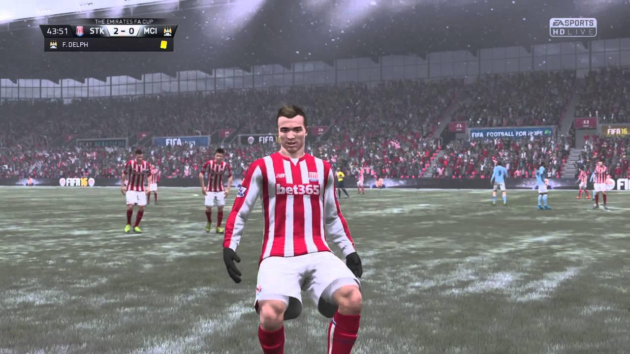 Fifa 16 Xherdan Shaqiri 30 Yd Free Kick Youtube