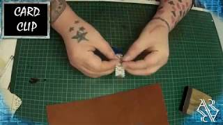 Leather Card guard// LIVE BUILD VIDEO