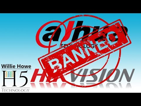 United States Government Banning Dahua and Hikvision - YouTube