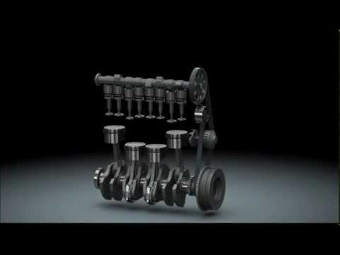 Fiat Punto engine - Solidworks animation