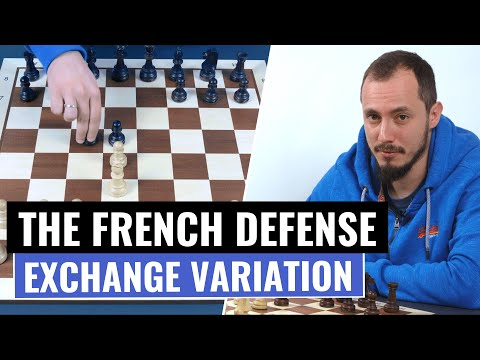The French Defense | Exchange Variation | Chess Openings | IM Andrey Ostrovskiy
