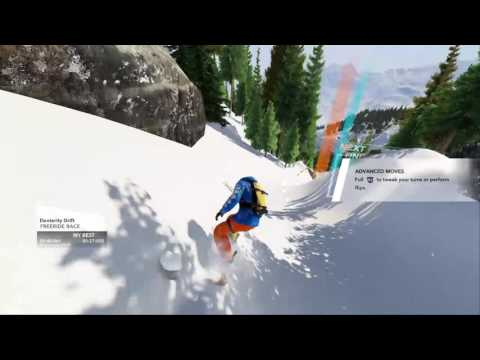Steep closed beta - Gold medal with First person view.