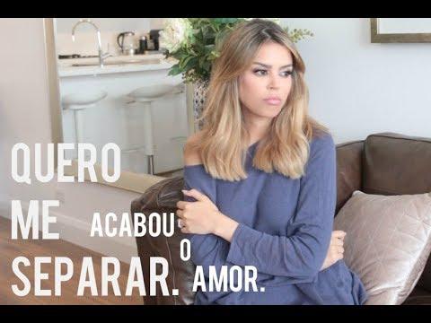 """ASSISTA ESSE VIDEO SE VC QUER SE SEPARAR pq o """"AMOR' acabou #falarenatilde"""