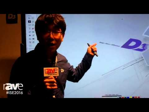 ISE 2016: DigiZoo Demonstrates D3 Flat Touch Display