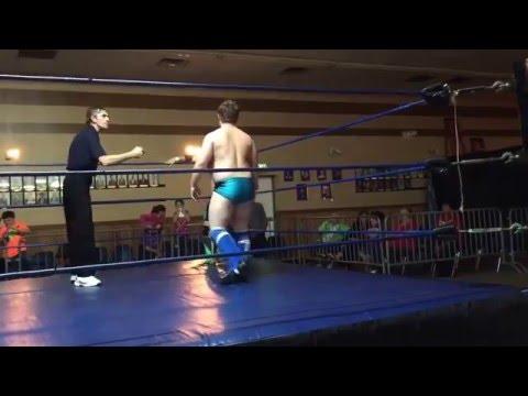 "2.27.16 ""RapidFyre"" Lucas Nero vs Robert Backlund Jr. SCW in Bay St. Louis, MS."
