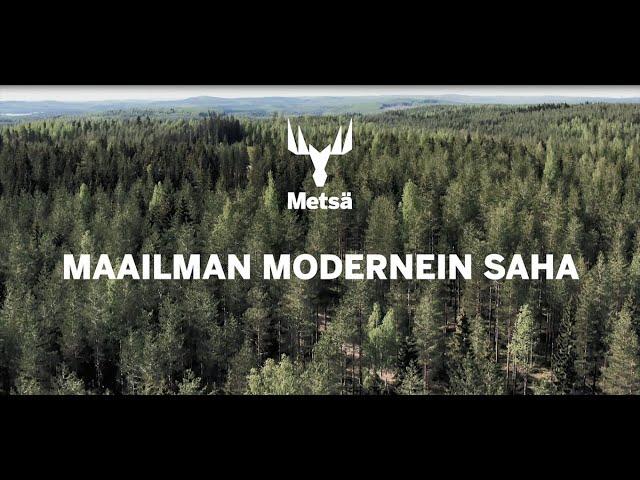 Metsä Fibren Rauman saha