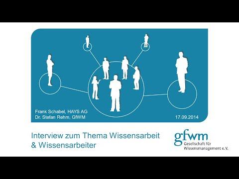 Wissensarbeit-Interview GfWM-Hays