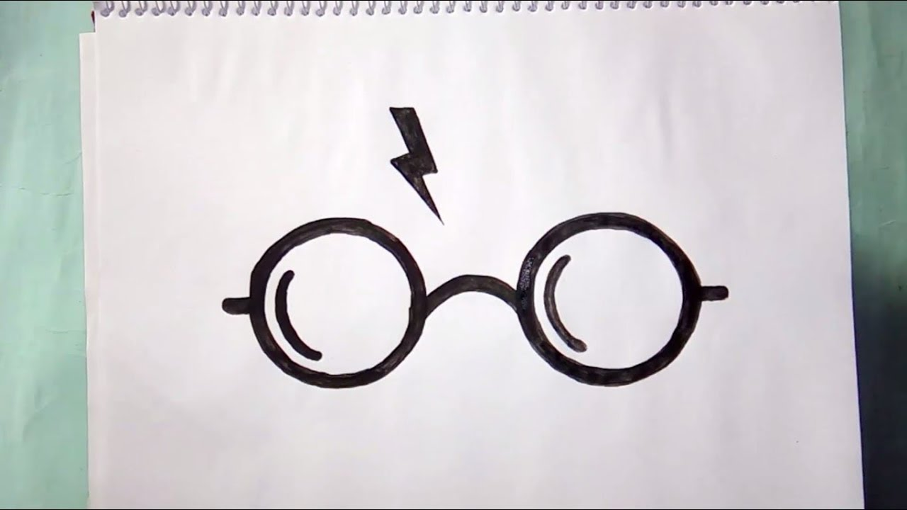 How To Draw The Laser Cut Harry Potter Symbols Youtube