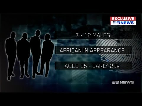 Nine News. Africans Attack Aussie Student.(Refugees)(Flemington)(Melbourne)
