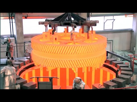 Amazing  Heavy Industry Machinery - Hot Metal, Metallurgical Plant For The Production Of Steel