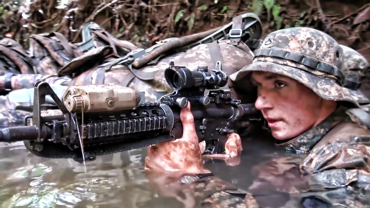 Scenes From 25th Infantry Division Training