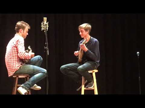 Chris Thile and Noah Wise