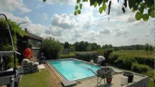 Opbouw Monoblock Zwembad