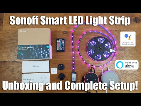 Sonoff L1 Smart LED Light Strip with Music Sync Builtin
