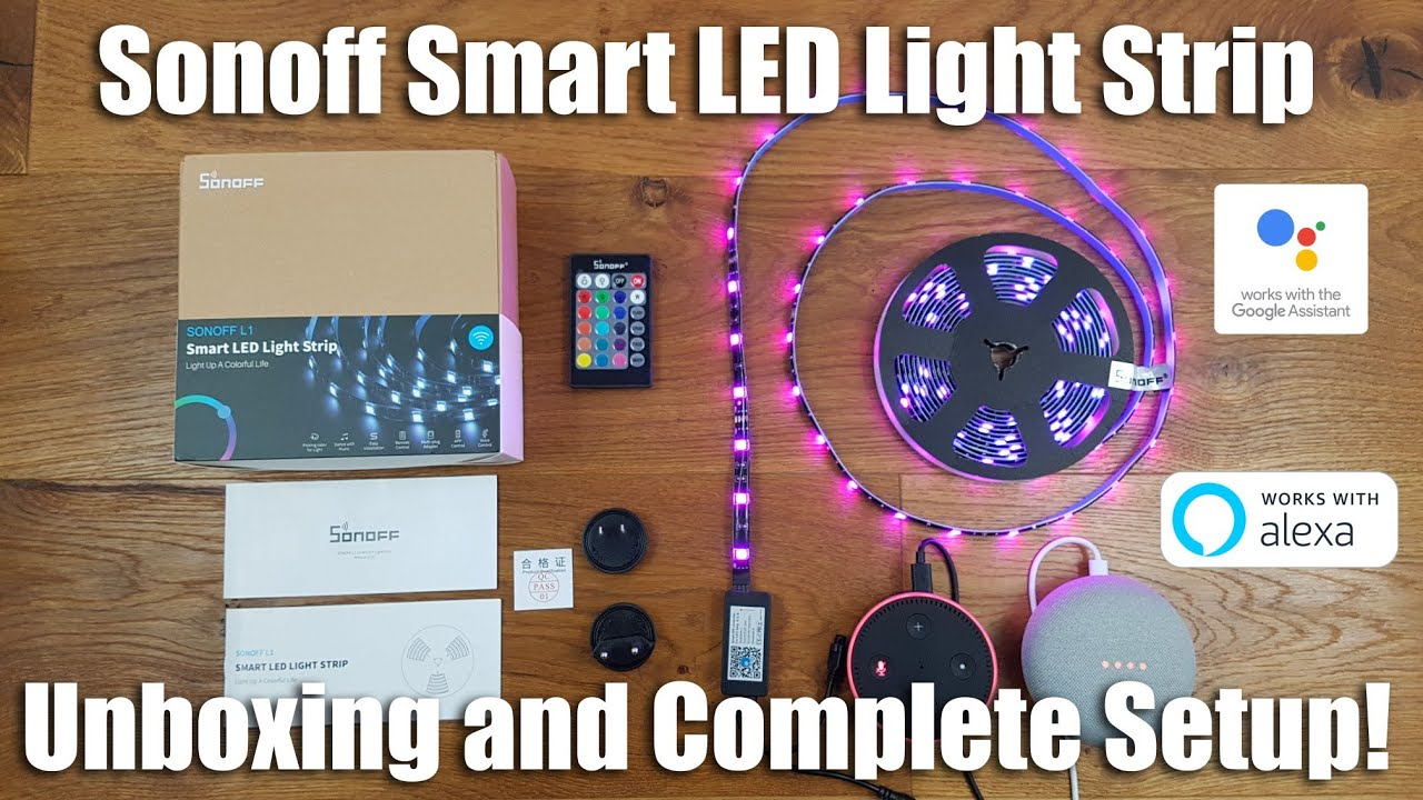 competitive price e0003 242bd Sonoff L1, The Smart LED Light Strip with Music Sync Builtin!