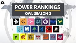 Overwatch League Season 2 Team Power Rankings | Akshon Esports