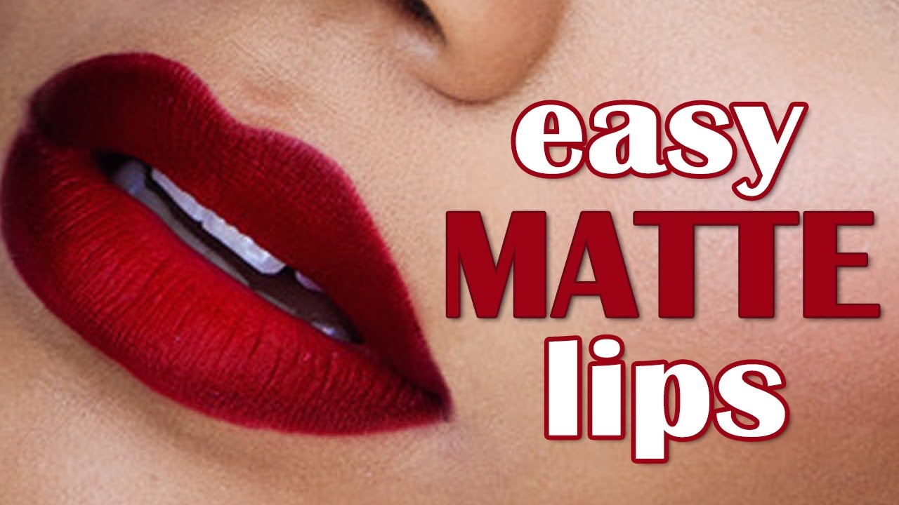 How To Get the Perfect Matte Red Lip Look