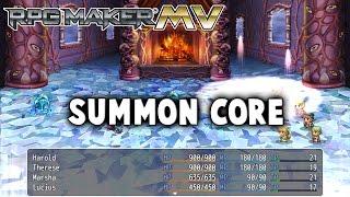 Summon Core Plugin  - RPG Maker MV