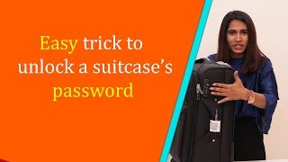skybags unlock code