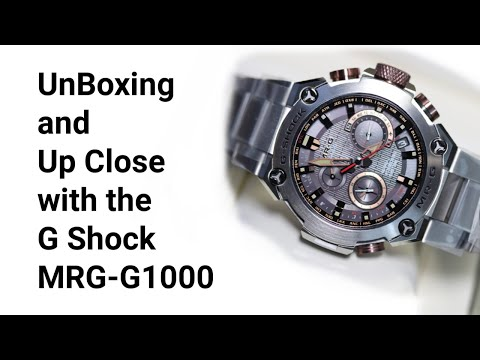 G Shock MRG G1000 Unboxing and Review Mp3