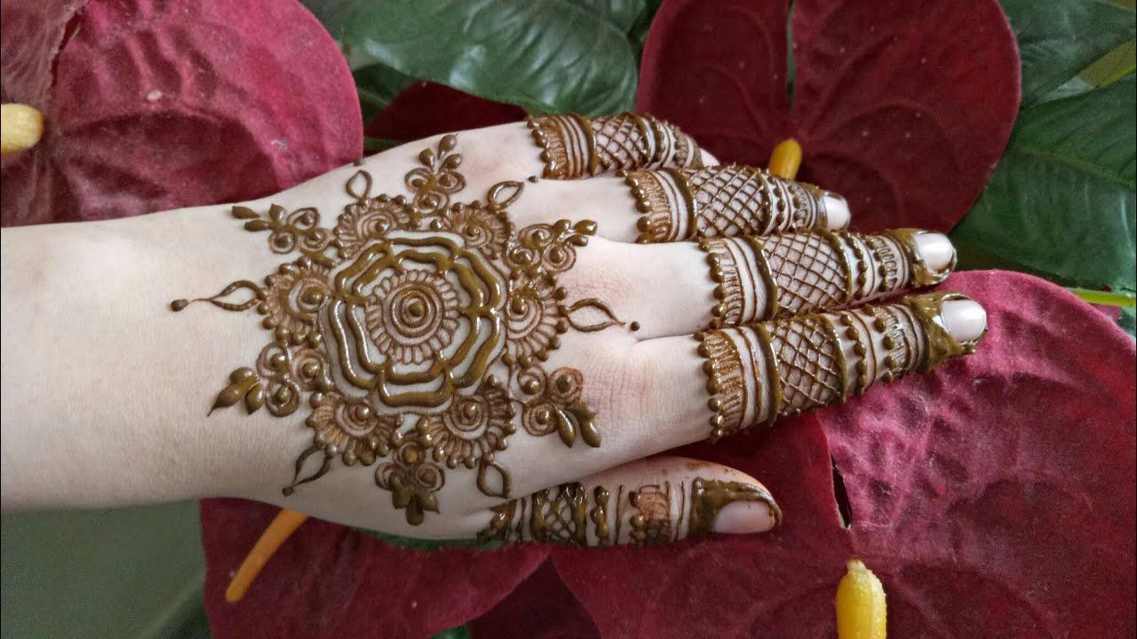 Mandala Henna Designs: Mandala Henna Design #1