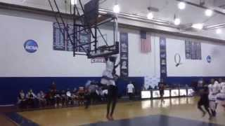AARON WALKER CARDOZO GUARD CRAZY AND 1 DUNK IN QUEENS BOROUGH CHIP