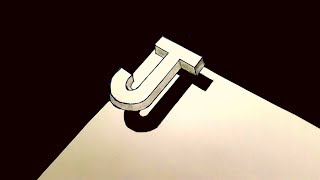 Download Very Easy Drawing 3d Letter J Trick Art With