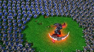 ЖECТЬ! Пятеро на одного в Warcraft 3